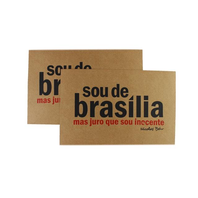 Cartaz Nicolas Behr Brasília