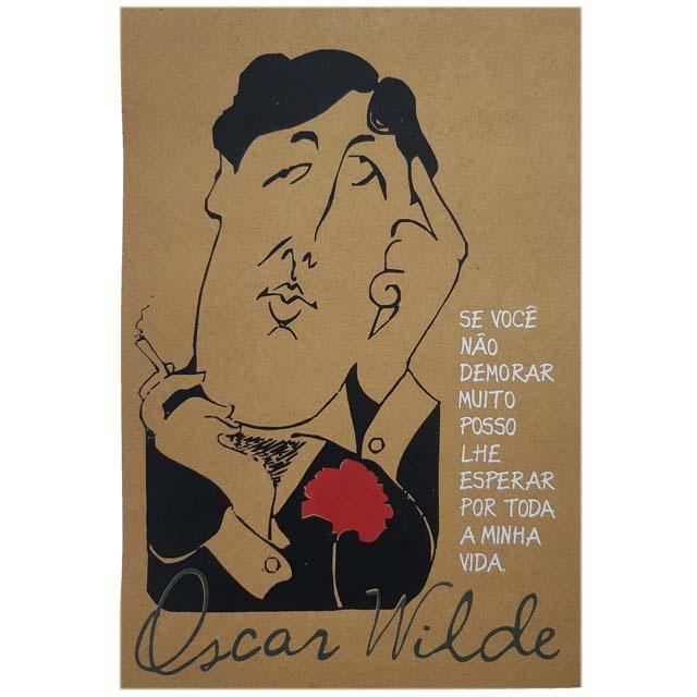 Cartaz Oscar Wilde