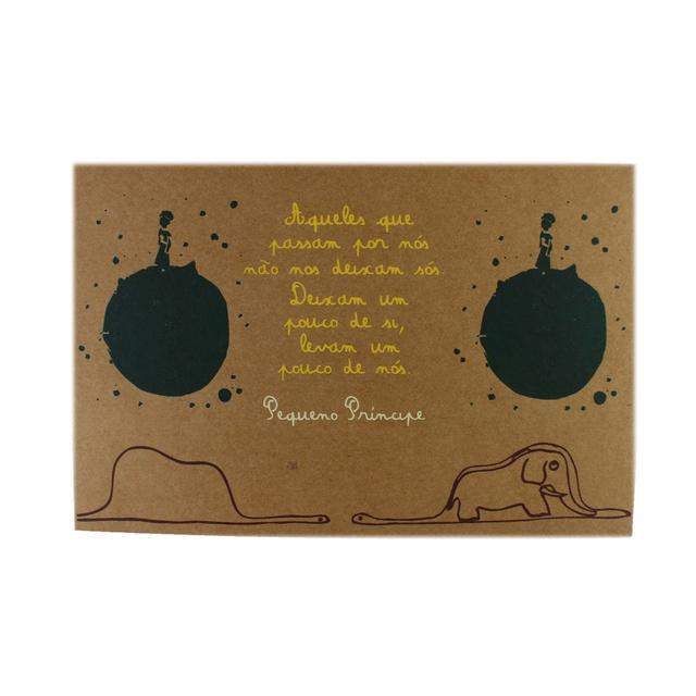 Cartaz Pequeno Príncipe Planeta