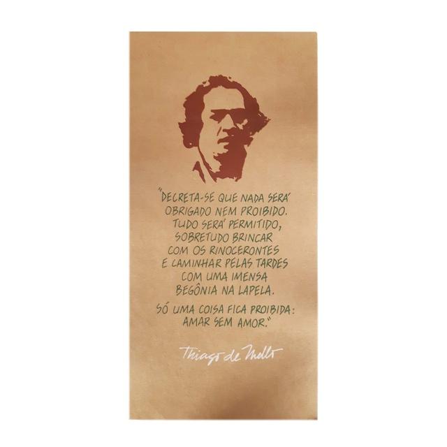 Cartaz Thiago de Mello