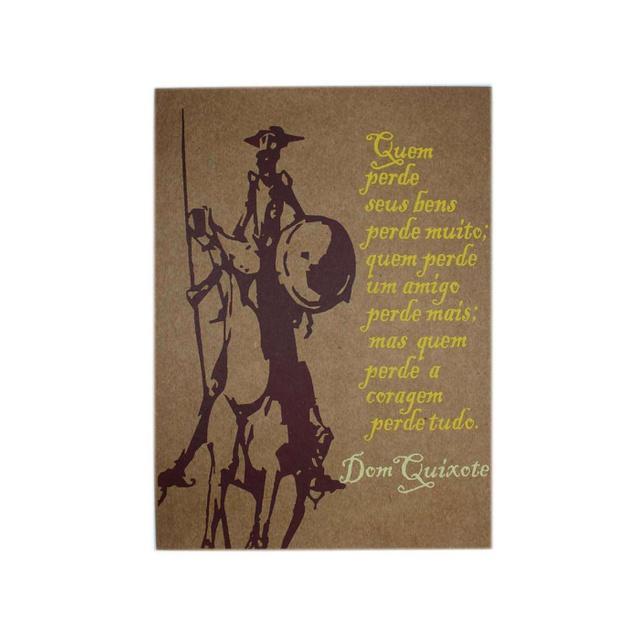 Lâmina Dom Quixote Coragem