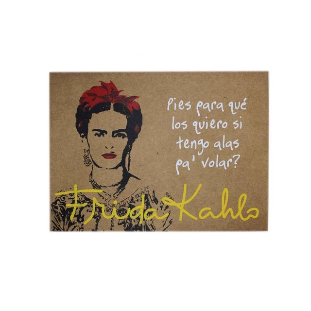Lâmina Frida Kahlo Alas