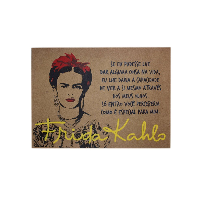 Lâmina Frida Kahlo Olhos