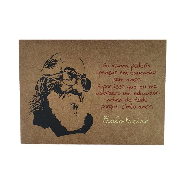 Lâmina Paulo Freire