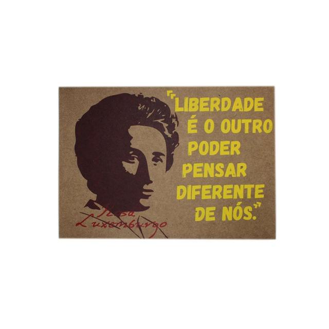 Lâmina Rosa Luxemburgo Liberdade