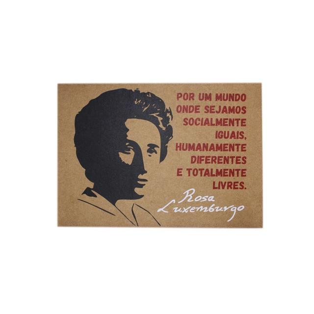 Lâmina Rosa Luxemburgo