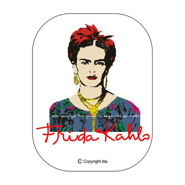 Babylook Frida Kahlo Alas Branca