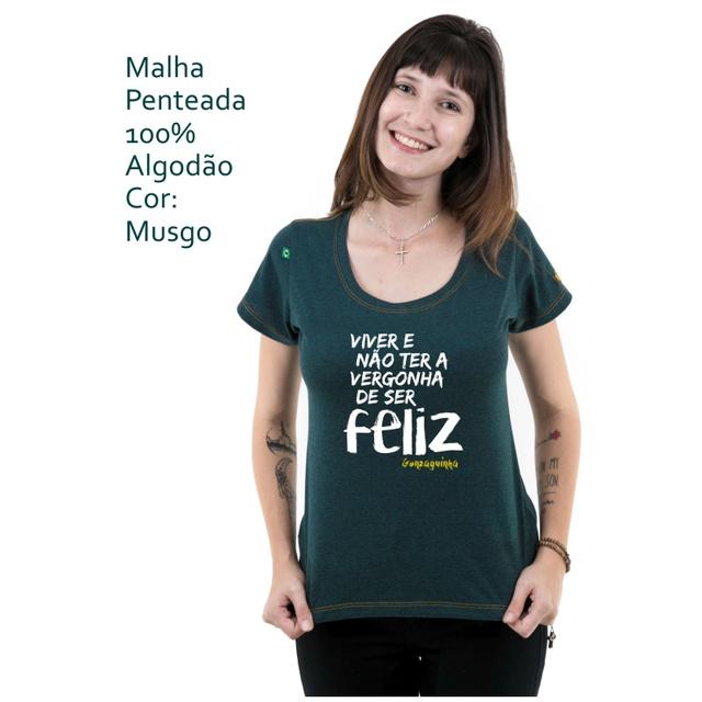Babylook Gonzaguinha Musgo