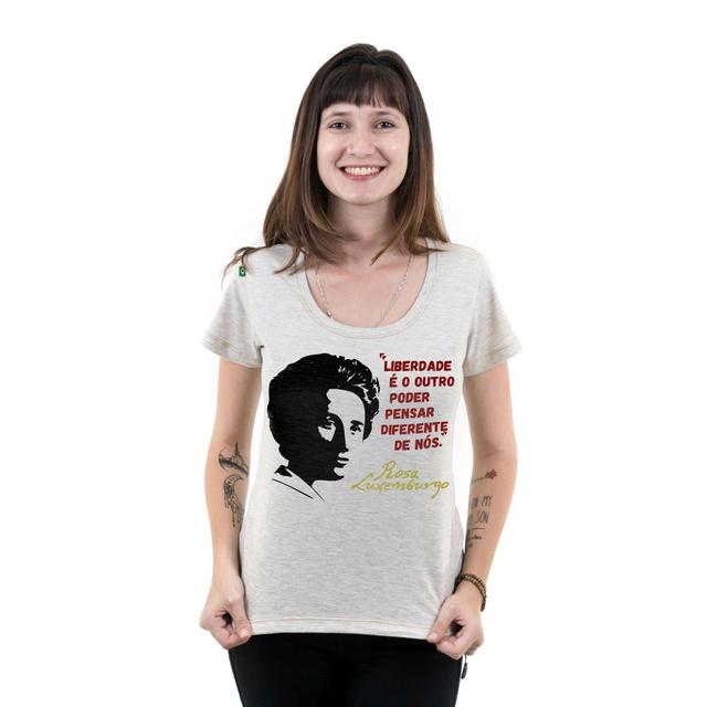 Babylook Rosa Luxemburgo Gelo