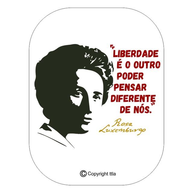 Bata Rosa Luxemburgo Branca