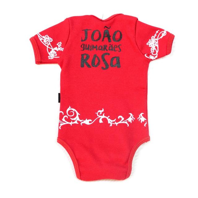 Body Guimarães Rosa Vermelho