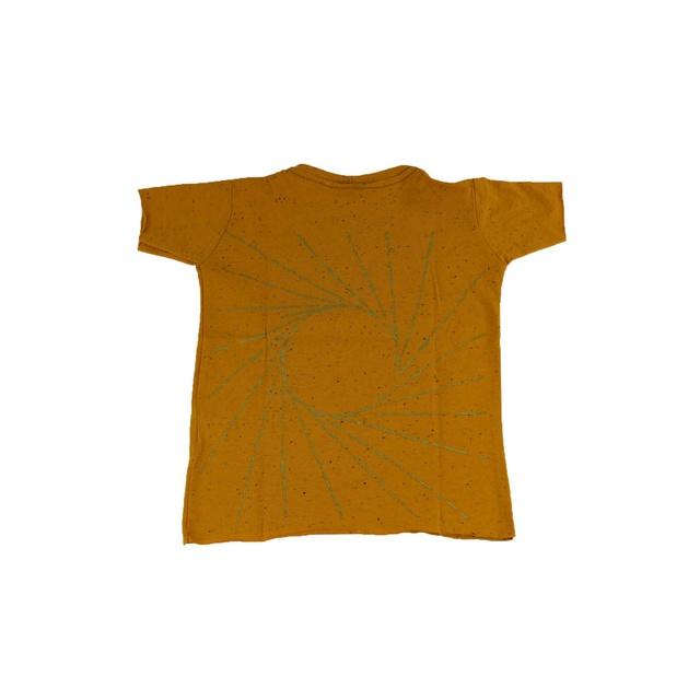 Camiseta Infantil Graciliano Ramos Baleia Mostarda