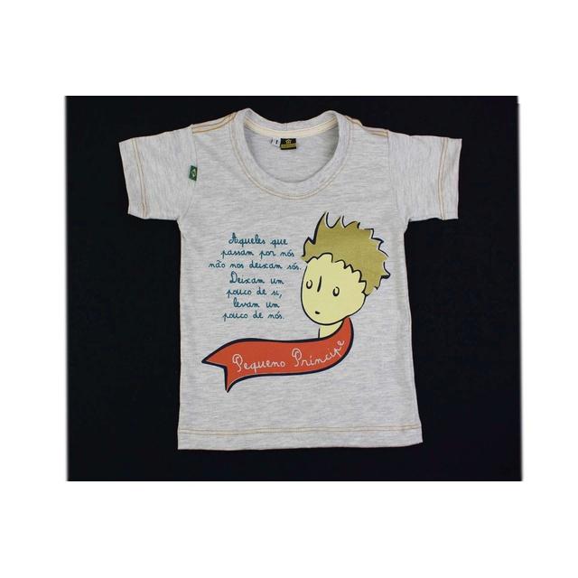 Camiseta Infantil Pequeno Príncipe Gelo