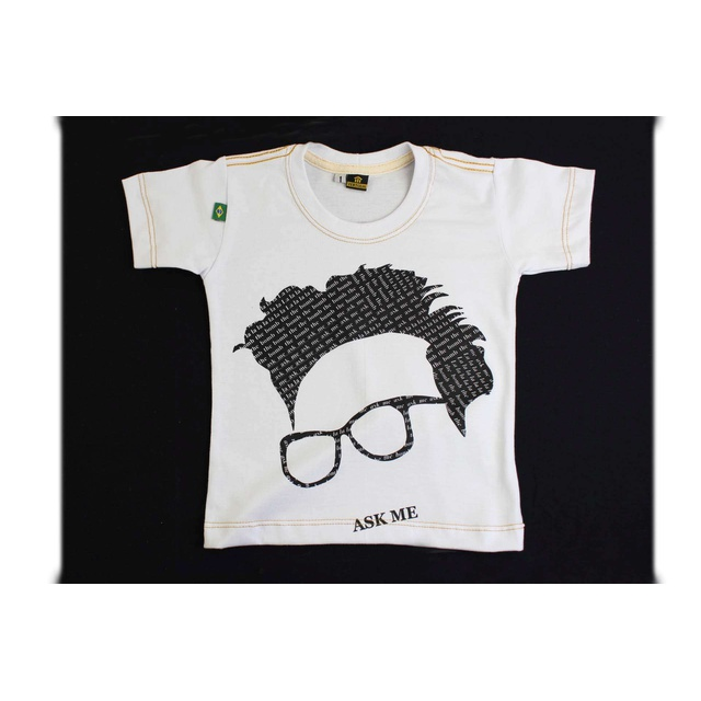 Camiseta Infantil The Smiths Branca