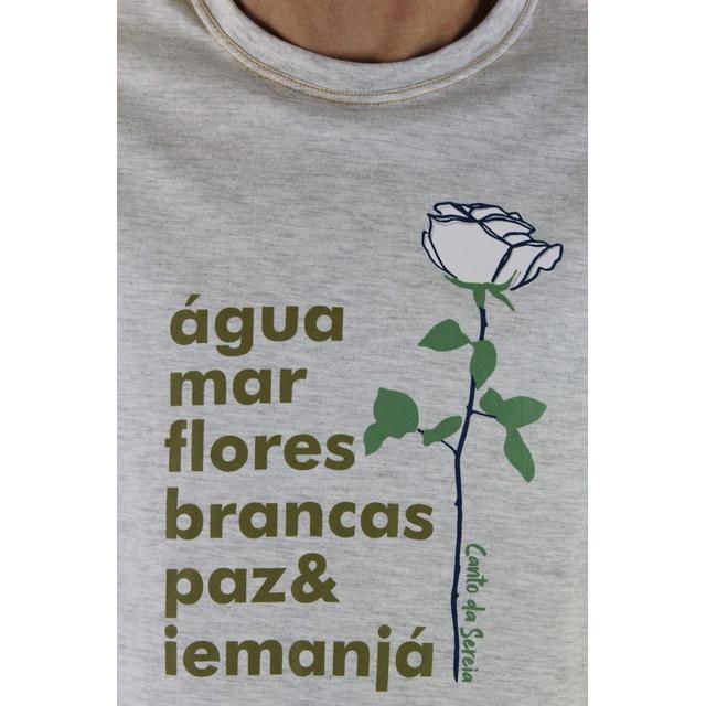 Camiseta Iemanjá Gelo