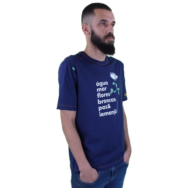 Camiseta Iemanjá Marinho