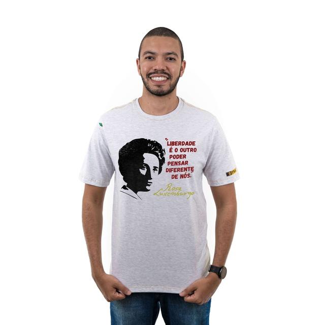 Camiseta Rosa Luxemburgo Gelo