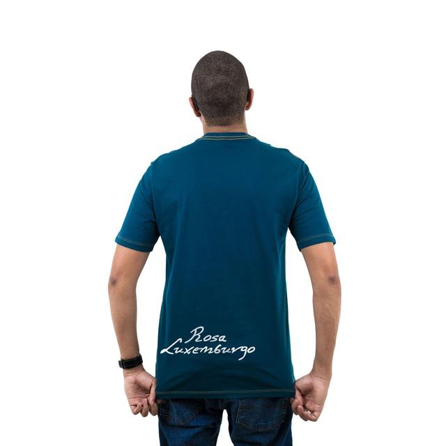Camiseta Rosa Luxemburgo Musgo