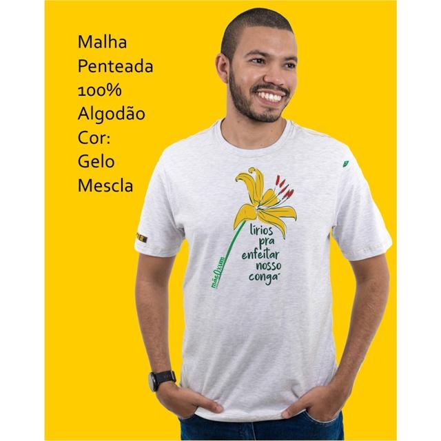 Camiseta Oxum Gelo