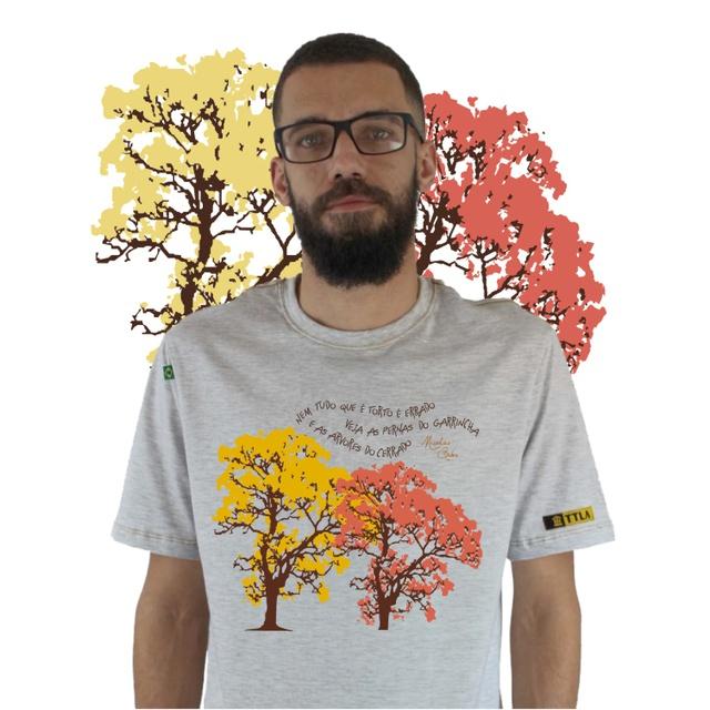 Camiseta Nicolas Behr Ipês Gelo