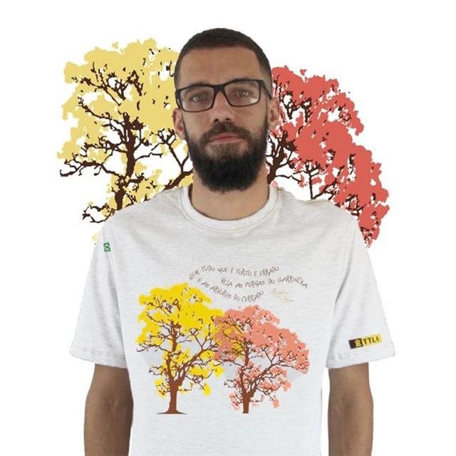 Camiseta Nicolas Behr Ipês Branca