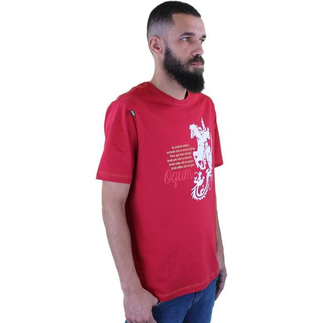 Camiseta Ogum Vermelha