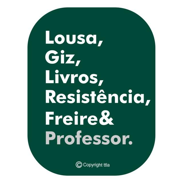 Camiseta Freire Professor Mescla Musgo