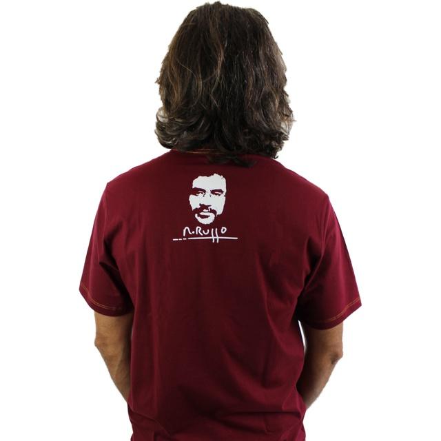 Camiseta Renato Russo Pais e Filhos Bordô