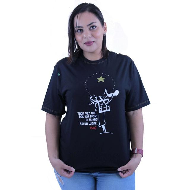 Camiseta Siba Preta