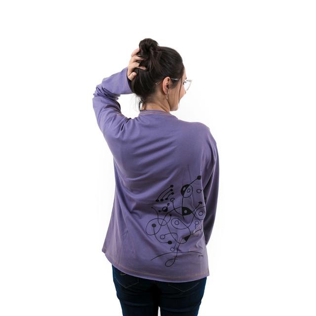 Camiseta Manga Longa Miró
