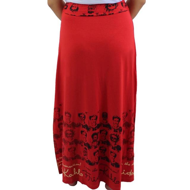 Saia Frida Kahlo Vermelho