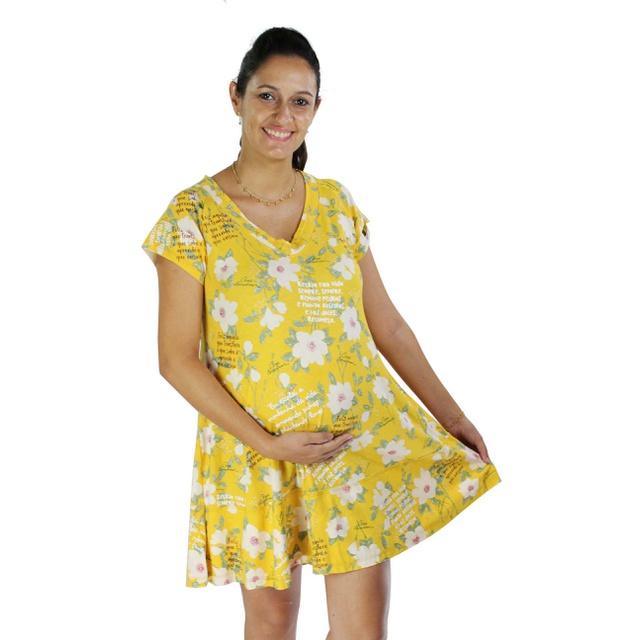 Vestido Cora Coralina Amarelo
