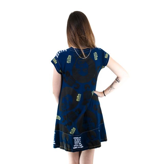 Vestido Nina Simone Marinho