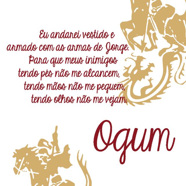 Nécessaire Ogum