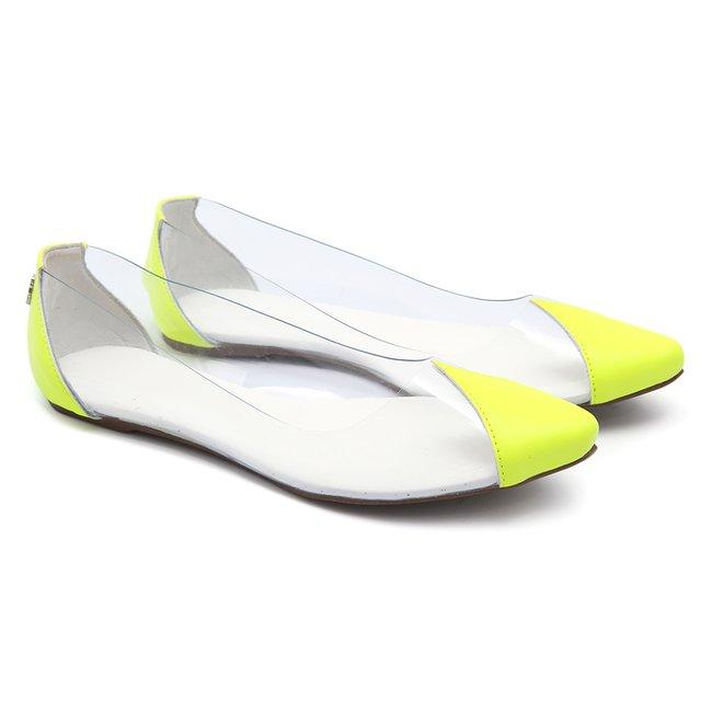 dd469f8b4b Sapatilha Transparente Neon Infantil Gats