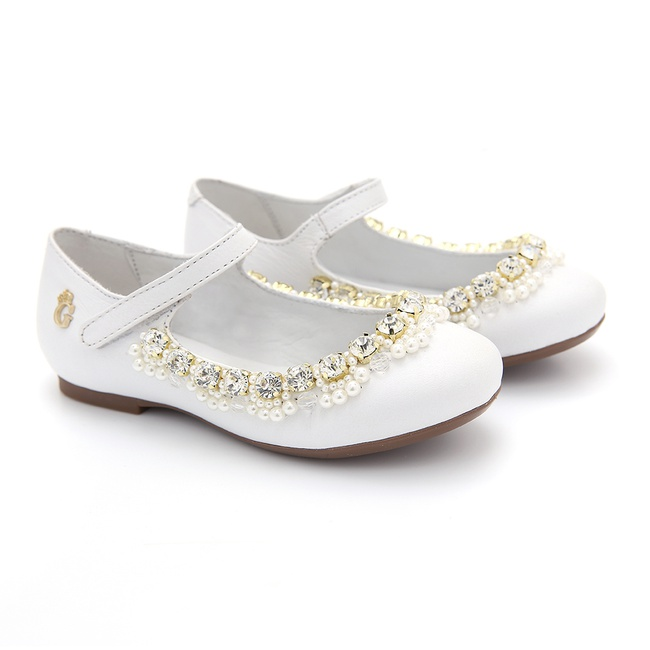 Sapato Dority Bordado Infantil Gats