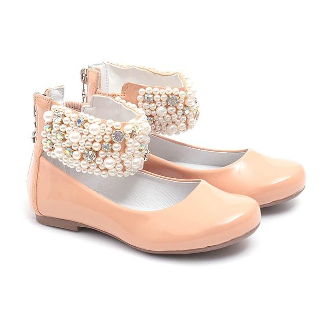 Sapato de Tornozeleiras Bordado Infantil Gats