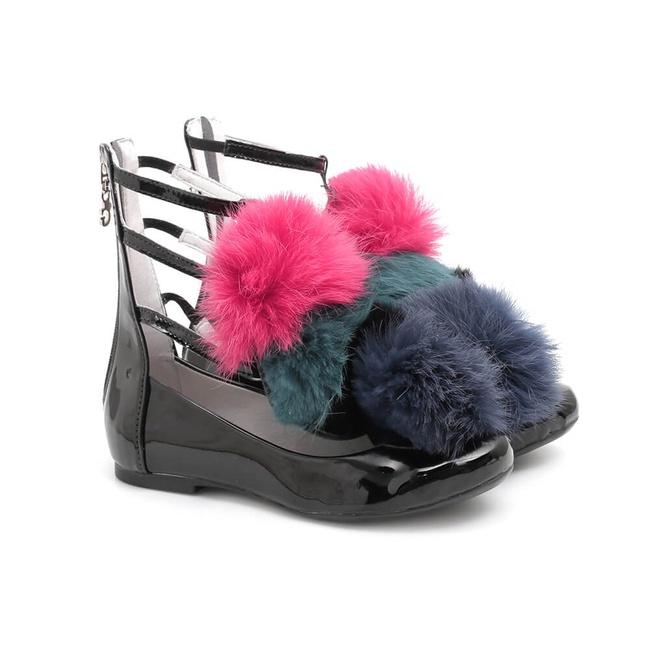 Sapato Pompom Infantil Gats