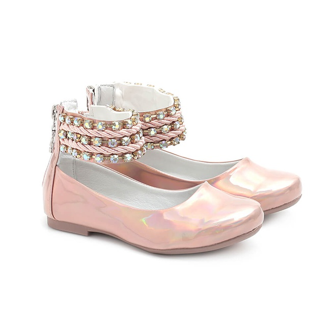Sapato Feminino Tornozeleira Infantil Gats