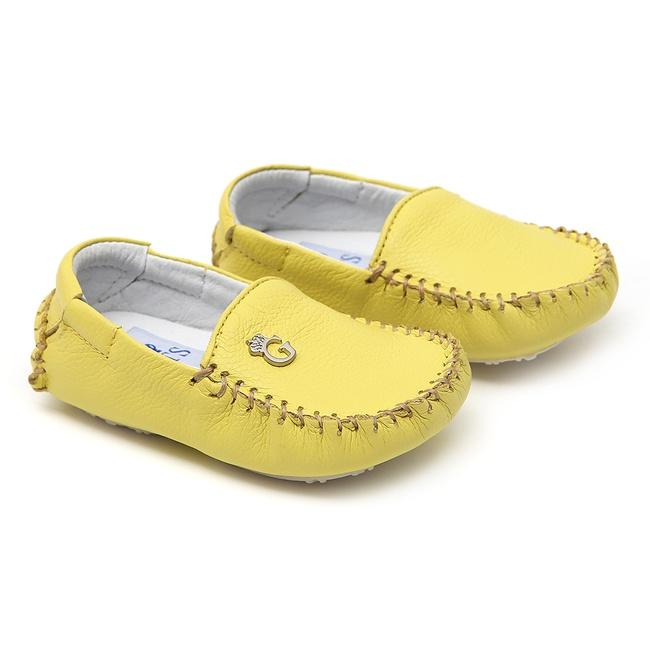 Mocassim Masculino Amarelo Baby Gats