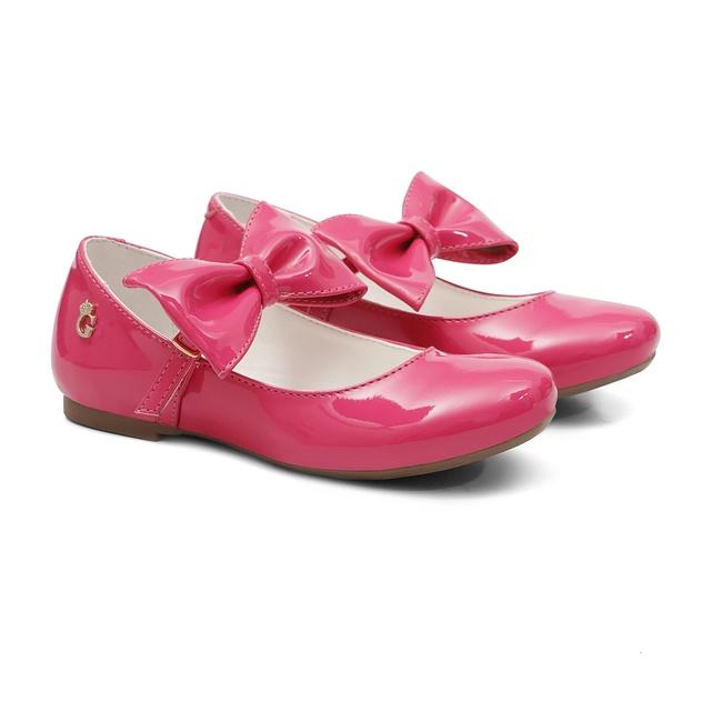 Sapato Verniz Gats Menina Laço Boneca