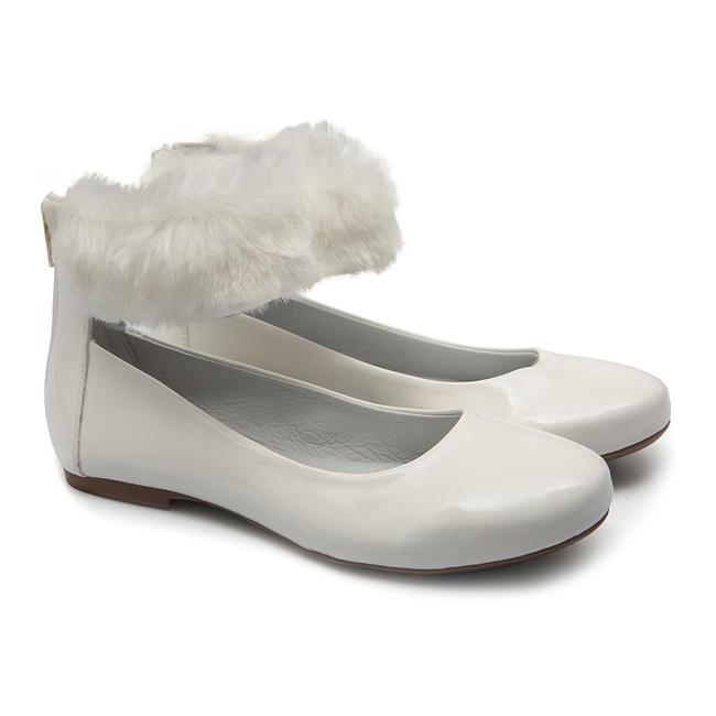 Sapato de Tornozeleira com Pêlo Infantil Gats