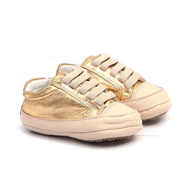 Tênis Cristal Dourado Baby