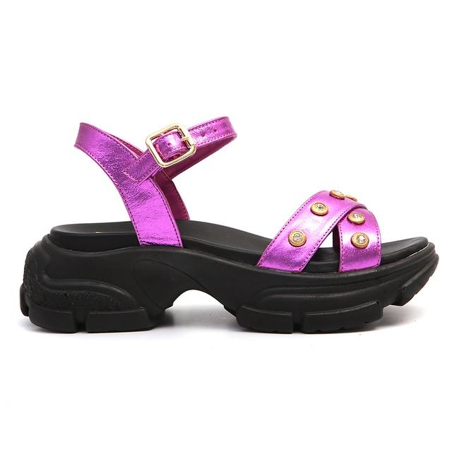 Sandália de Tiras Feminina Infantil Gats