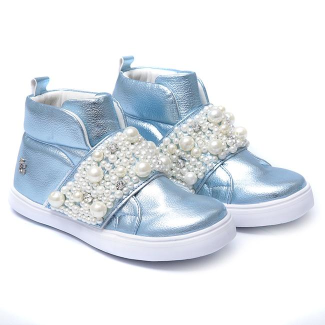 Tênis Sneaker Bordado com Pérolas infantil Gats