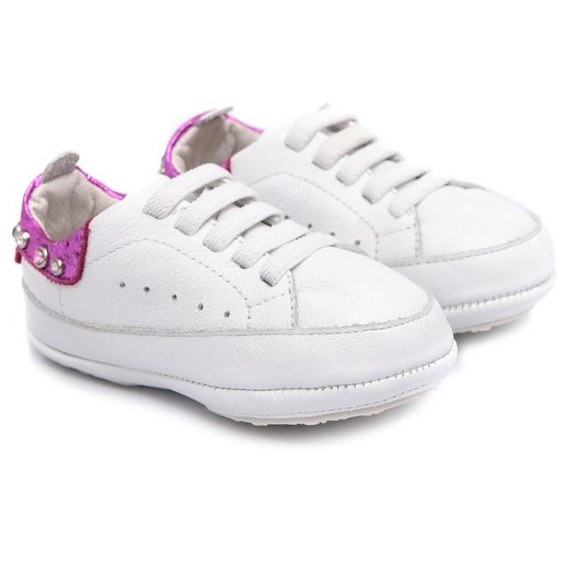 Tênis Branco Baby Feminino Gats