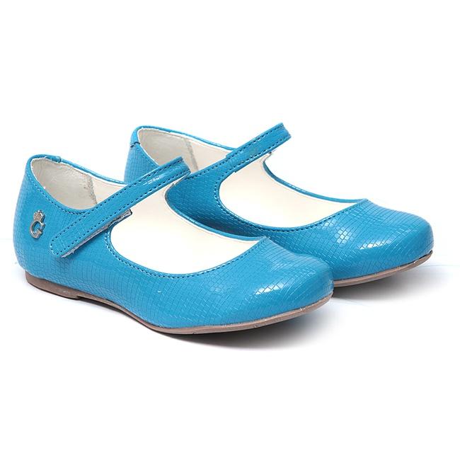 Sapatilha Infantil Azul Gats