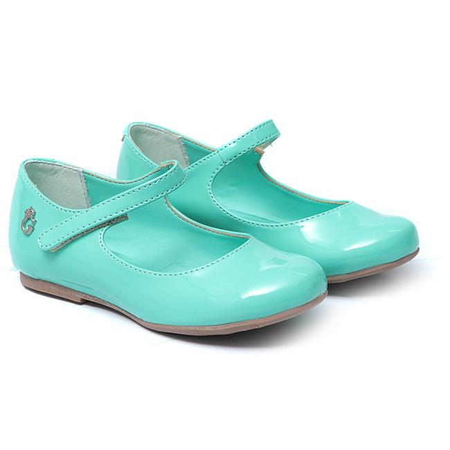Sapato Feminino Infantil Azul Gats