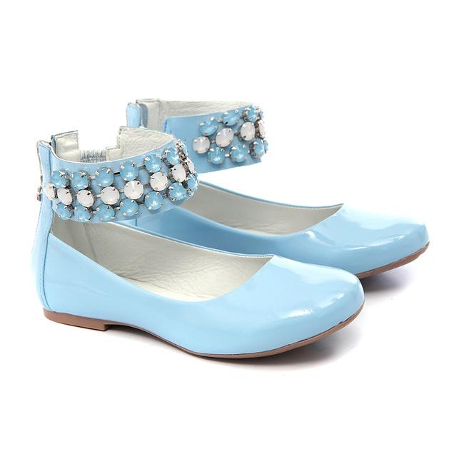 Sapato de Tornozeleiras Azul Infantil Gats