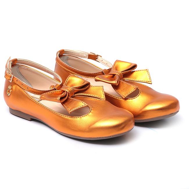 Sapato de Laço Pink Infantil Gats